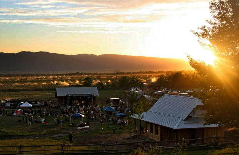 Teton Valley offers some incredible views with barns, expansive farms, 3 mountian ranges and sunsets like these.